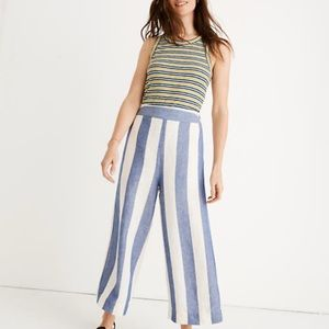 Madewell Huston pull on crop pants